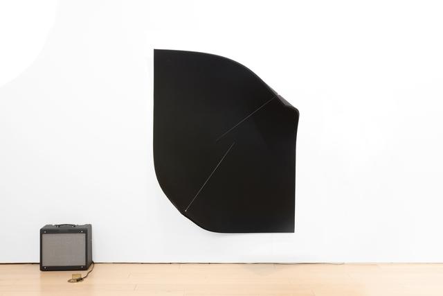 , 'Work On Felt (Variation 15) Black,' 2017, Paul Kasmin Gallery