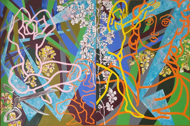 , 'THE LINEAR SERIES: In The Garden,' 2000-2006, Paul Fisher Gallery