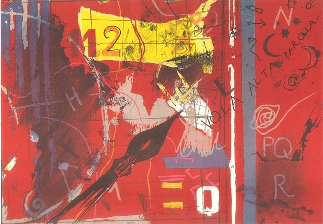 Giosetta Fioroni, 'Vola Alta Parola...', 1960s, Wallector