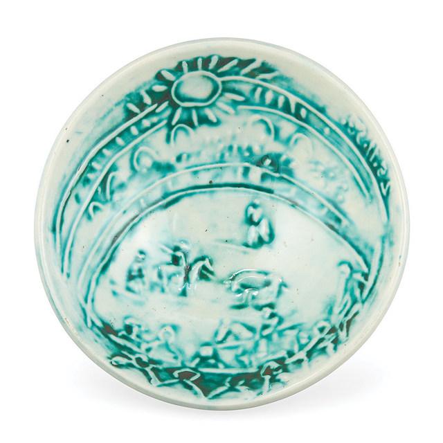 Pablo Picasso, 'Scène De Tauromachie (A.R. 240)', 1954, Other, Painted and partially glazed white ceramic bowl, Doyle