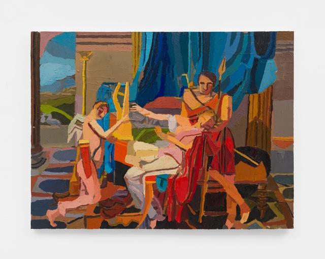 , 'Sappho and Phaon,' 2019, M+B