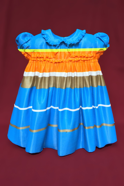 , 'Blue Striped 50's Baby Dress,' 2015, Spotte Art