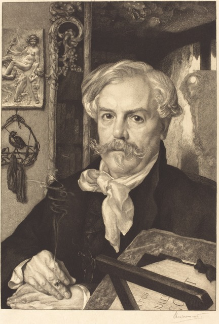 Félix Bracquemond, 'Edmond de Goncourt,' 1882, National Gallery of Art, Washington, D.C.