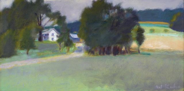 , 'Winchester Farm from Below,' 1980, Debra Force Fine Art