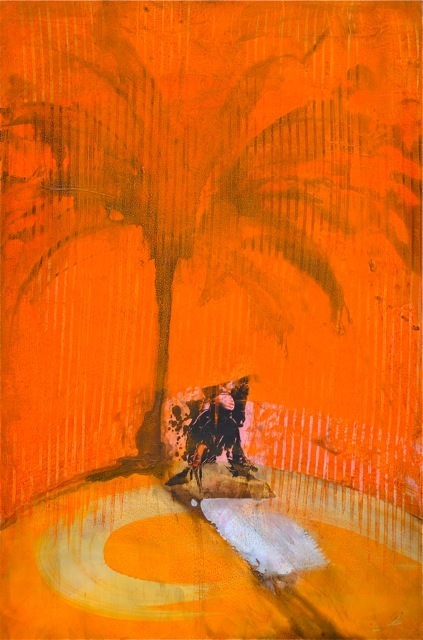 , 'Orange Palm Shadow Charmer,' 2015, Tanya Baxter Contemporary