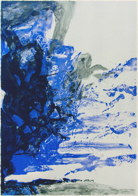 Zao Wou-Ki 趙無極, 'Untitled', 1998, Print, Lithograph, Hanart TZ Gallery