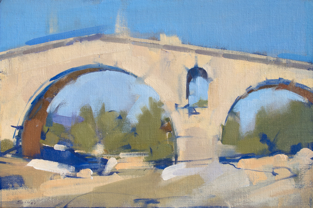 , 'Pont Julian Riverbed,' 2015, J. Cacciola Gallery