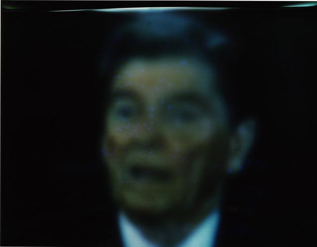, 'Reagan Videogram,' 1981, Rhona Hoffman Gallery