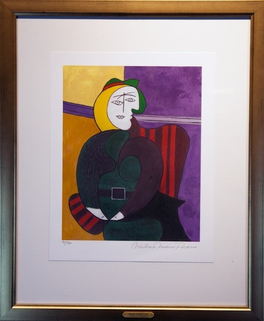 Pablo Picasso, 'The Red Armchair', 1979-82, Reproduction, Giclee print, Masterpiece Art