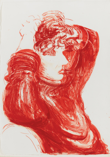 "David Hockney, 'Red Celia, from ""Moving Focus"" series', 1984, Hamilton-Selway Fine Art Gallery Auction"