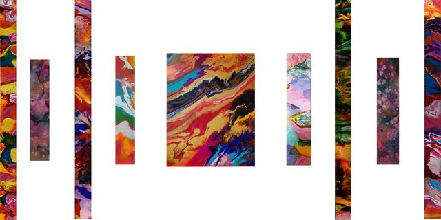 , 'Energy Flow,' 2018, Saphira & Ventura Gallery