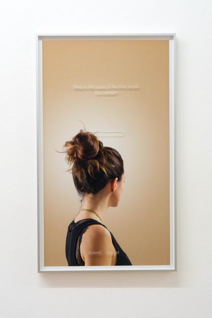 , 'NF,' 2015, Bernhard Knaus Fine Art