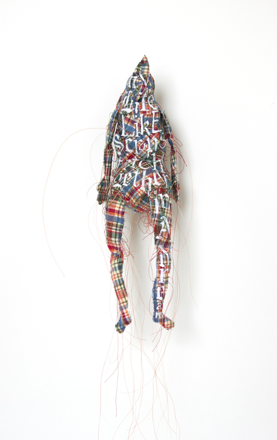 , 'Red and Blue Plaid Sculpture,' 2013, Arthur Roger Gallery