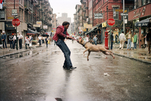 , 'Man and Dog, Lower East Side, Manhattan NYC ,' 1980, Galerie Bene Taschen
