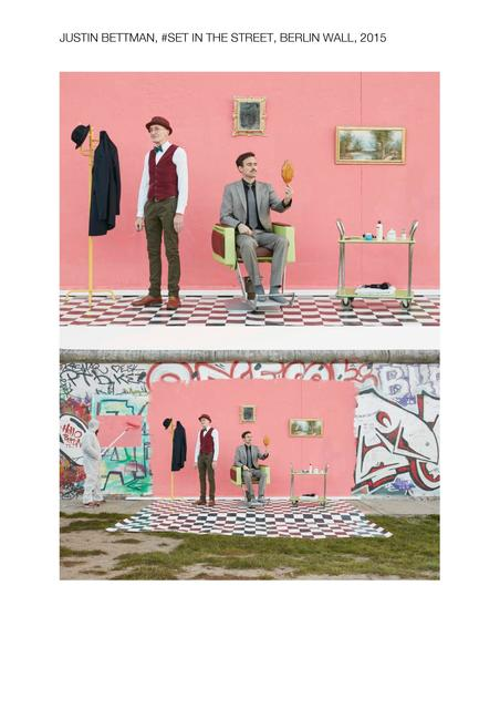 , '#SetInTheStreet Berlin Wall,' 2015, Marc Azoulay