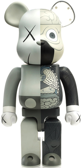 KAWS, 'Dissected Companion: 1000% Bearbrick (Gray)', 2010, Kantor Gallery