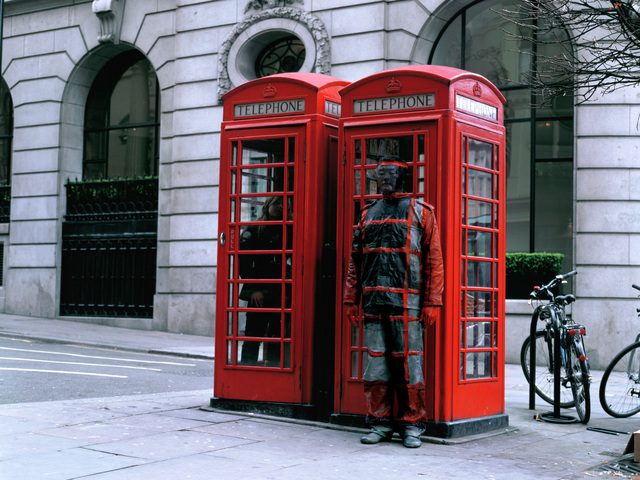 Liu Bolin, 'Hiding in the City - n°65 - Telephone Booth - AP 1/2', 2008, art&emotion Fine Art Gallery