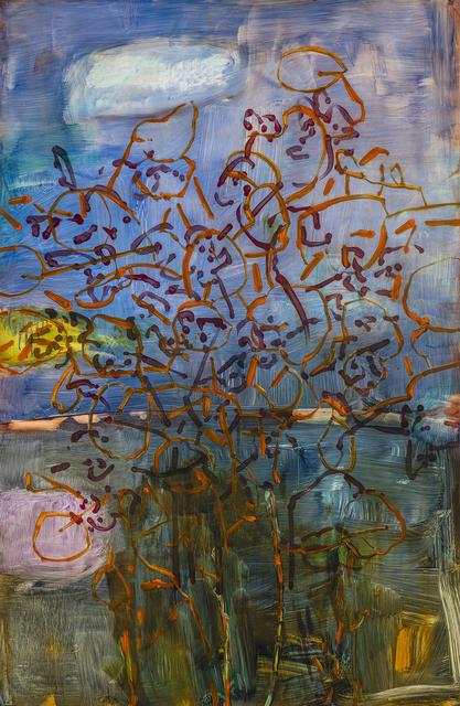 , 'Winter Orange,' 2018, Valley House Gallery & Sculpture Garden