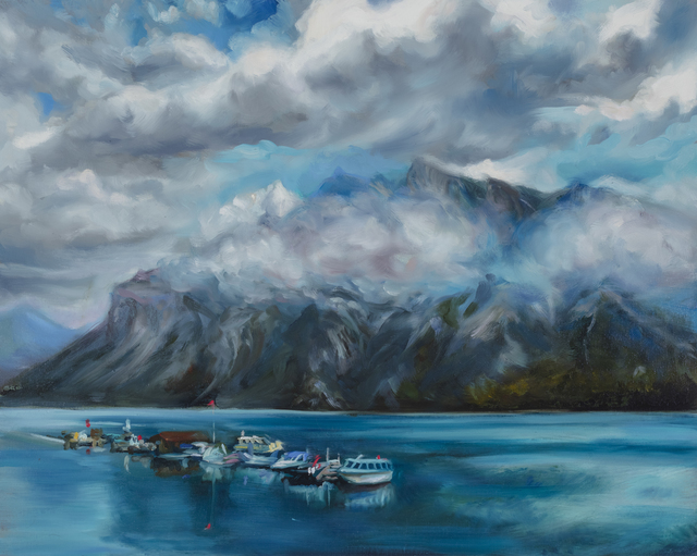 , 'Little Boats on The Abraham,' 2018, BBAM! Gallery