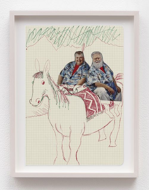 , 'Untitled (Tandem),' 2014, David Kordansky Gallery