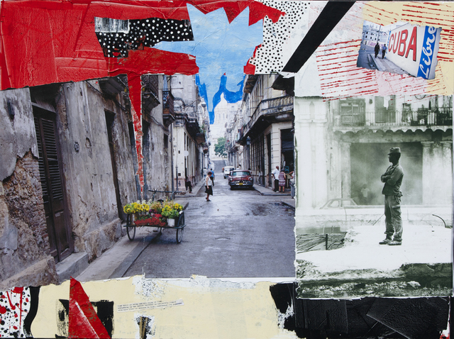 , 'Flower Cart,' 2015, Lawrence Fine Art