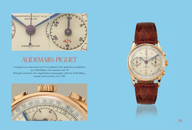 Audemars Piguet, 'Pink gold wristwatch', ca. 1940, Davide Parmegiani Fine Watches