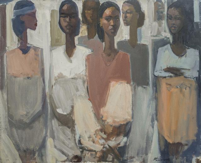 , 'Pillars of Life: Hope II,' 2018, Addis Fine Art