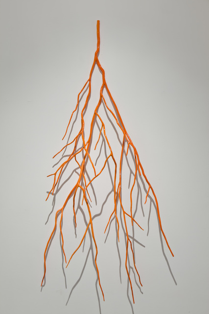 , 'Bough Laden with Fluorescent Orange,' 2012, Art Mûr