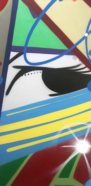 CRASH, 'Tow the Line', 2019, JoAnne Artman Gallery