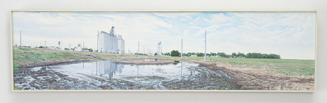, 'Large Puddle, Offerle, Kansas, US Highway 50,' 2016, Valley House Gallery & Sculpture Garden