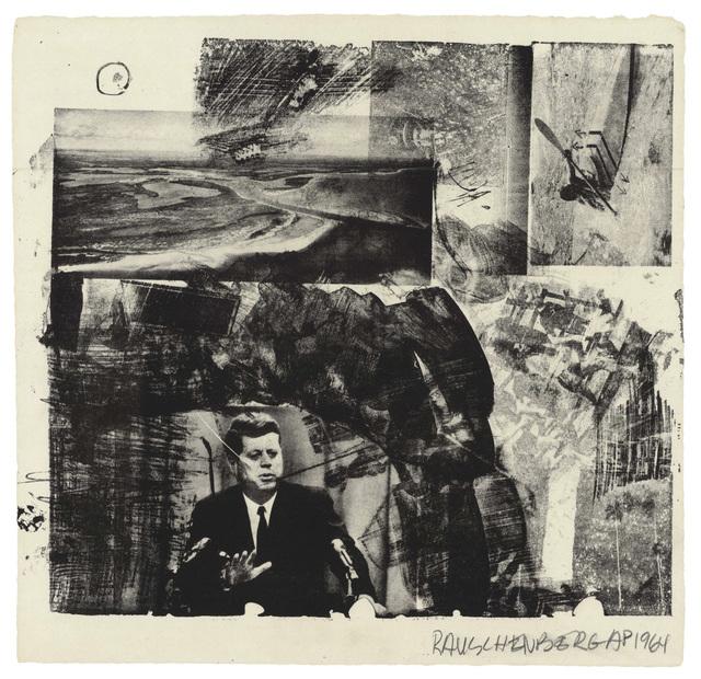 Robert Rauschenberg, 'Ark', 1964, Hiram Butler Gallery