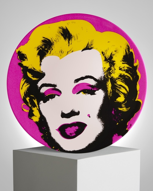 "Andy Warhol, '""Pink Marilyn"" Porcelain Plate', ca. 2019, Samhart Gallery"