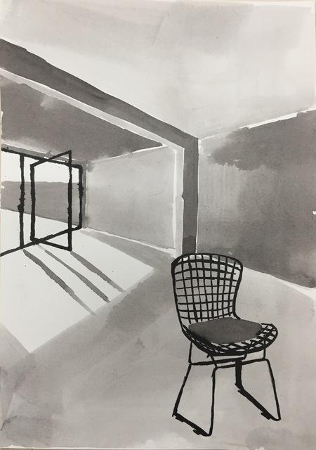 , 'Ink Rooms 6,' 2017, Galerie Huit