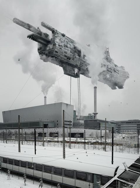 Cédric Delsaux, 'Dark Transportation', 2018, Galerie Patrick Gutknecht