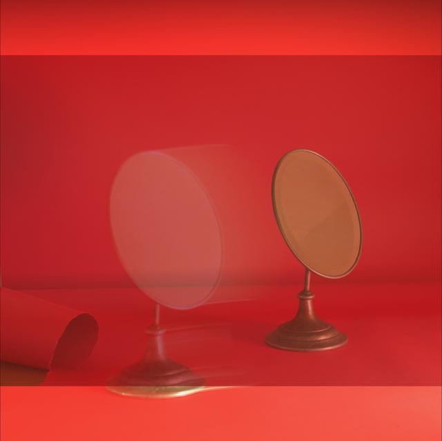 , 'Red Mirror #2,' 2018, James Barron Art