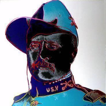 Andy Warhol, 'Teddy Roosevelt', 1986, Robin Rile Fine Art