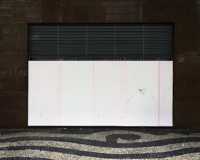 , 'Sem título #1 - da série Mitigação sem impacto (Convite à pintura) [Untitled #1 - from the series Mitigation without impact (Invitation to painting) ,' 2013, Portas Vilaseca Galeria