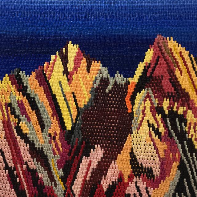 , 'Mountain Stitch,' 2017, Craig Krull Gallery