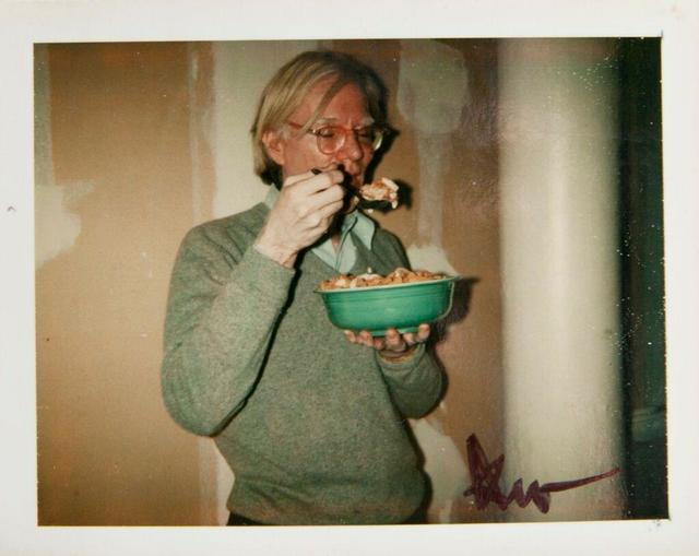 Andy Warhol, 'Andy Warhol, Polaroid Photograph of Andy Warhol Eating Cornflakes, 1970', 1970, Hedges Projects