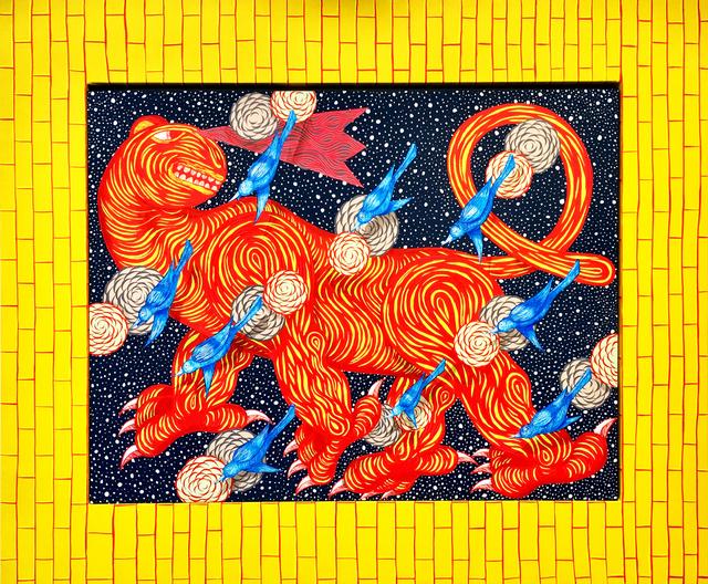 , 'Beast in Space (Window View),' 2018, Galerie Droste
