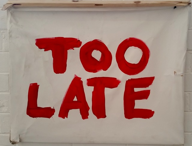 , 'Too Late,' 2016, Museum of African Design (MOAD)