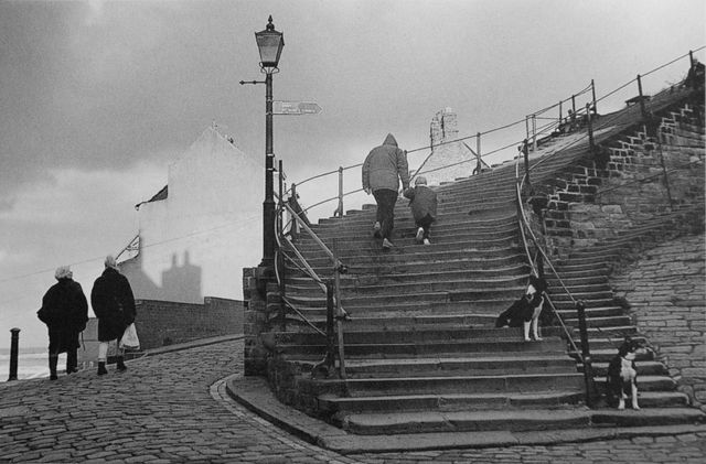 George Tice, 'Stairway to Whitby Abbey, Yorkshire', 1990, Gallery 270