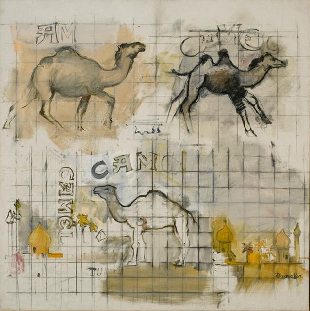, 'Three Camels,' 1962, Tibor de Nagy