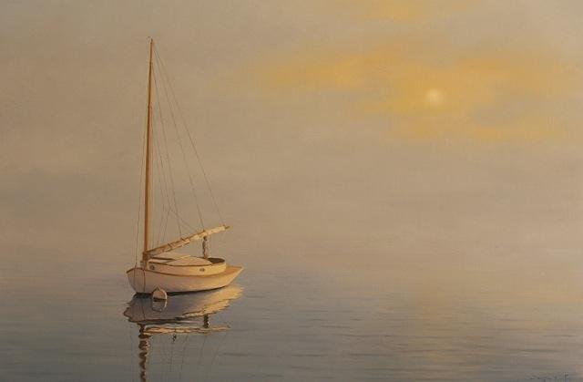 Sergio Roffo, 'Misty Sunrise, Nantucket', 2017, Quidley & Company