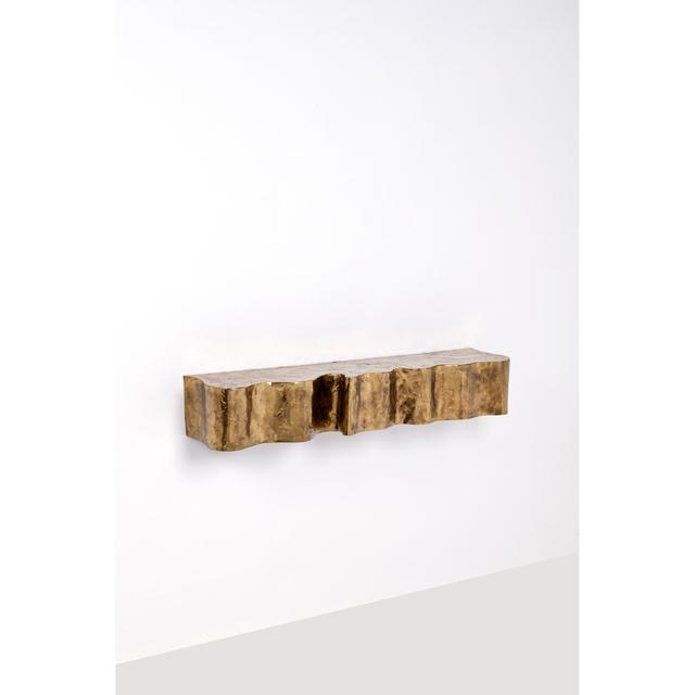 Silas Seandel, 'Wall shelf - Unique piece', 1981, Design/Decorative Art, Bronze, PIASA