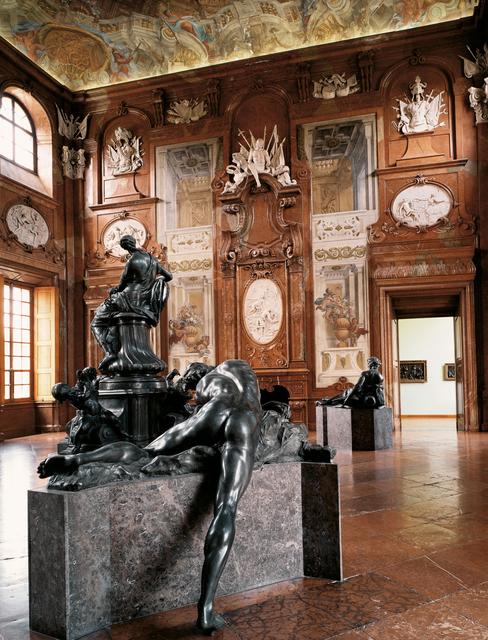 , 'Unteres Belvedere, Marmorsaal Lukas von Hildebrandt, Figuren Raphael Donner, Wien,' 2002, Christine König Galerie