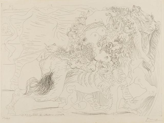 Pablo Picasso, 'Femme Torero I (Baer 425 C; Bloch 1329)', 1934, Forum Auctions