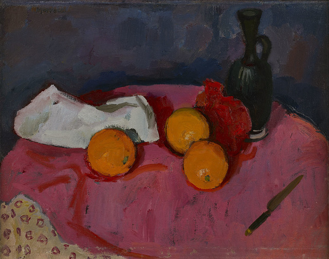 , 'Still Life with Three Oranges,' ca. 1965, The Scottish Gallery