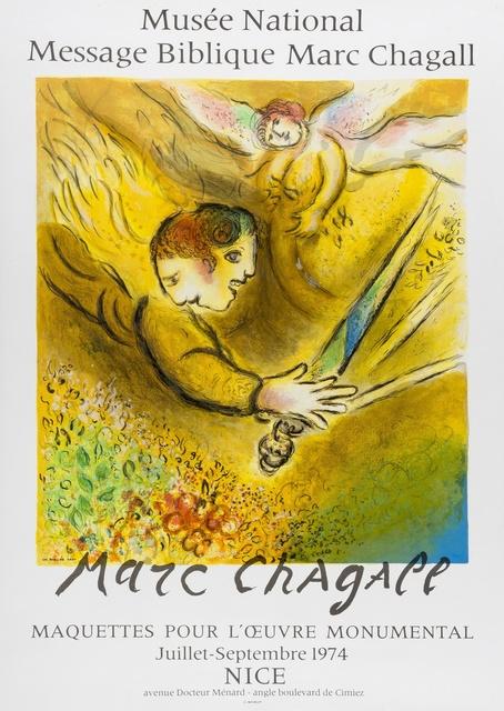 Marc Chagall, 'La Ruche de Montparnasse; L'Ange du Jugement', 1974, Forum Auctions