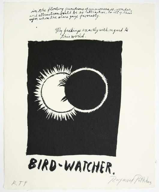 , 'Untitled(Bird Watcher),' 2018, Brooke Alexander, Inc.